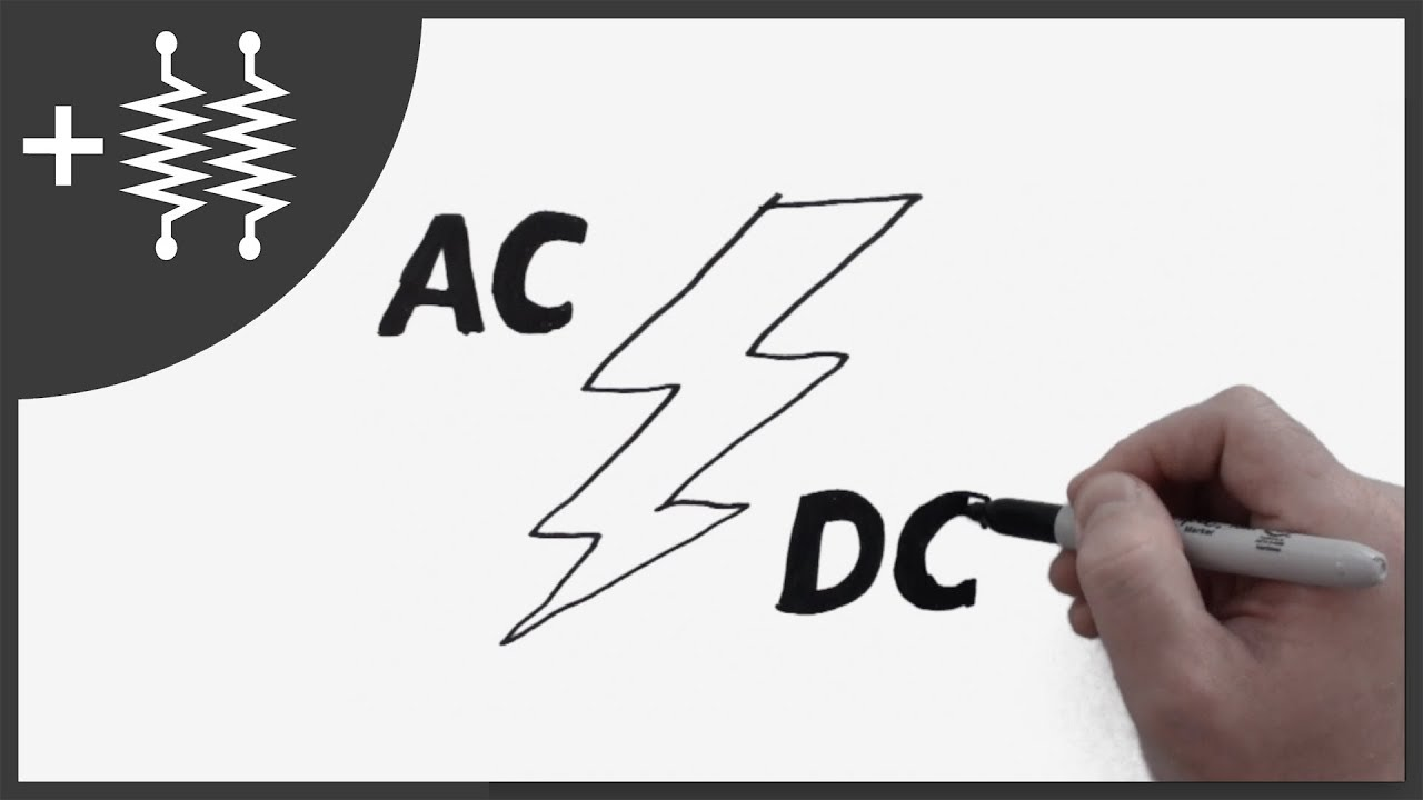 Difference Between Ac And Dc Current Explained Addohms 5 Youtube Alternating Diagram For Kids Of A Twoway Automatic