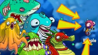 EatMe.io Most Powerful Top 5 Fishes Unlocked & Evolve! World Biggest Sea Fish Monster Duel Battle