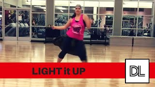 Light It Up by Major Lazer || Original routine for dance fitness, hip hop, or zumba class