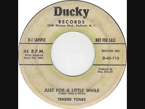 JUST FOR A LITTLE WHILE-TENDER TONES