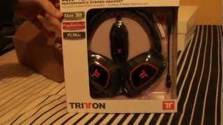 unboxing cascos tritton pro gaming ax 180   areagamerhd