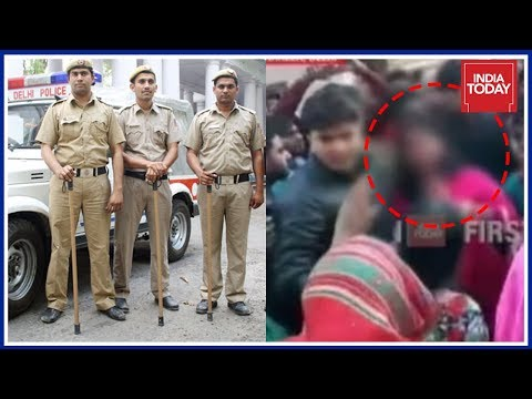 Delhi Police Assures Action Against Woman Being Stripped For Exposing Liquor Mafia