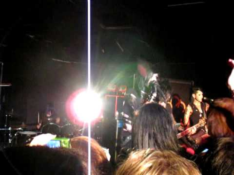 Black Veil Brides - The Morticians Daughter Live @The Madhatter 7/26/10