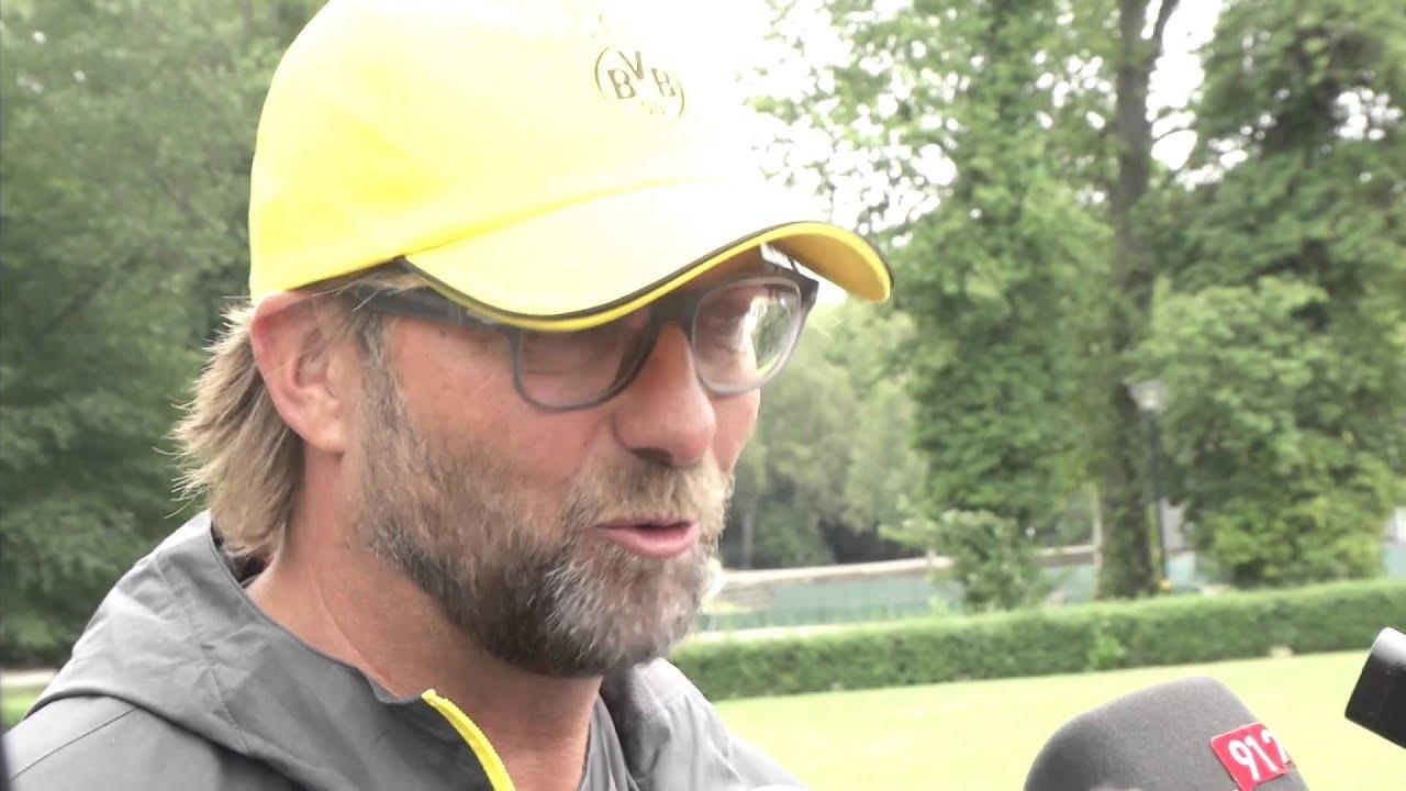 Jürgen Klopp freut sich auf Ciro Immobile und Adrian Ramos | Trainingsauftakt Borussia Dortmund