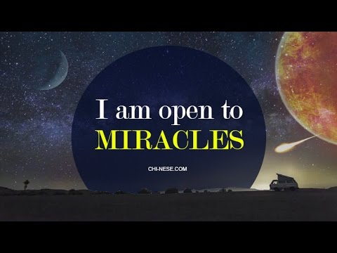 🌟 Miracle Affirmations 🌟 To Help You Make Your Dreams Come True. Get Into the Miracle Vibe!