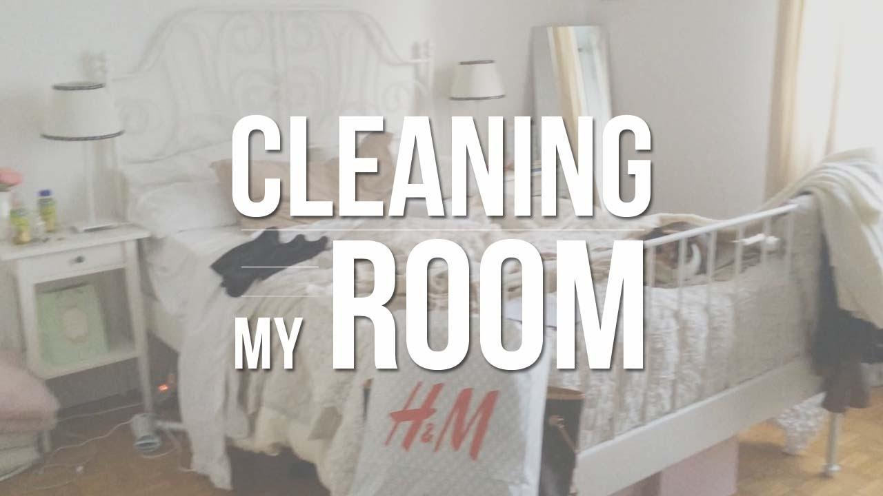 Non Riesco A Tenere In Ordine La Camera : Cleaning my room: 5 mosse per riordinare la camera ♥ youtube