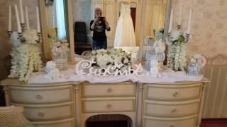оформление комнаты невесты!