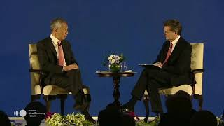 Prime Minister Lee Hsien Loong At The Bloomberg New Economy Forum