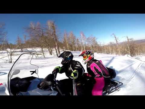 Тест драйв снегохода Yamaha VK Professional II на ЮРМЕ