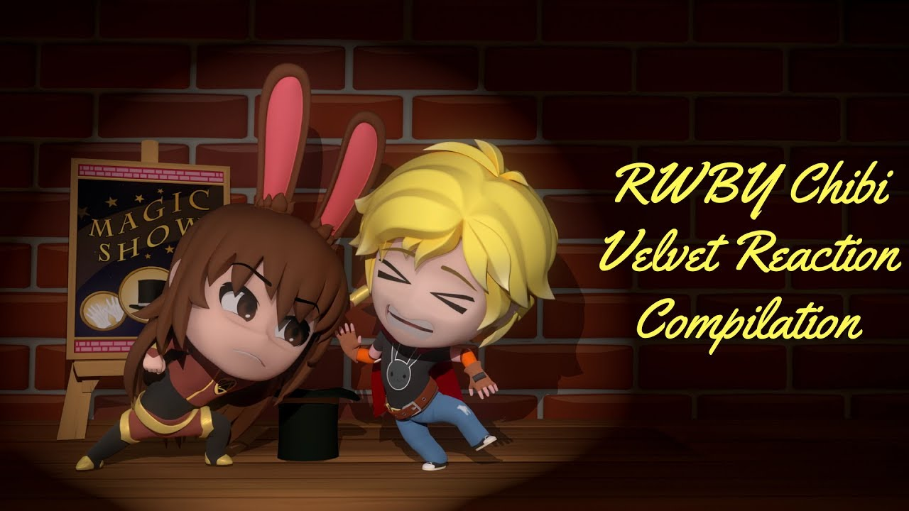 RWBY Chibi Season 2, Episode 3 - Velvet Reaction Compilation