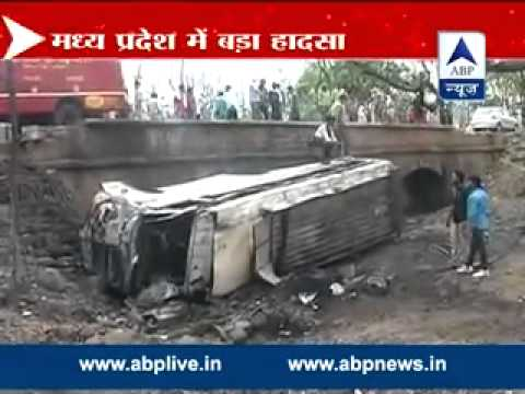 Over 20 feared dead in bus accident in MP's Panna district