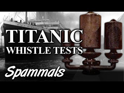 Titanic | The Whistle Tests (World Exclusive)