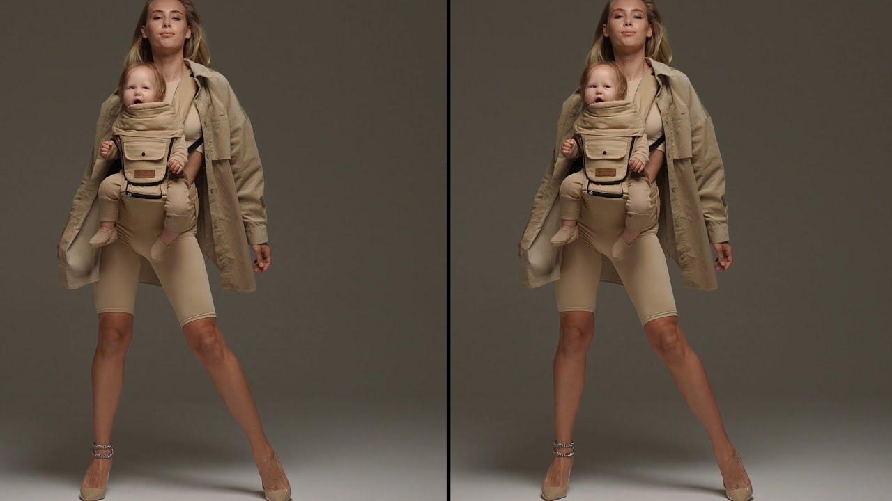 Рюкзак-переноска Happy baby Babyseat