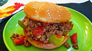 Sloppy Joes - Classic Sandwich Recipe