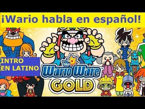 WarioWare Gold intro (LATINO)