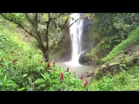 Top Costa Rica tour. Viento fresco best waterfalls, Liberia 2015 HD