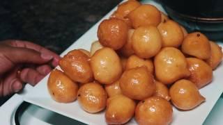 Jinsi ya Kutengeneza Kaimati| How to make Sweet Dumplings