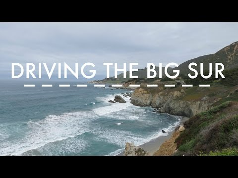 Driving The Big Sur - Vlog | SarahRoseGoes