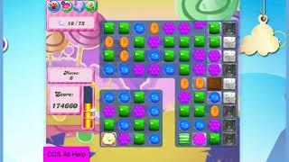 Candy Crush Saga Level 2613 30 moves NO BOOSTERS Cookie
