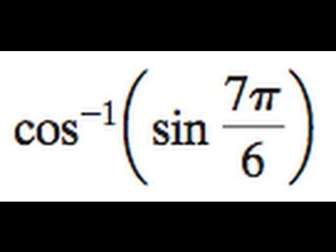 how to solve inverse sin