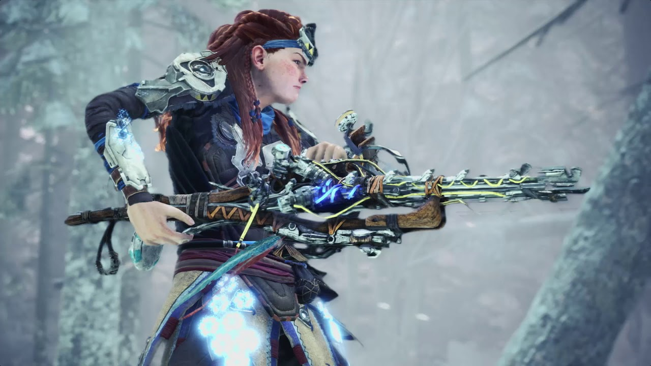 PS4《Monster Hunter World: Iceborne》與《Horizon Zero Dawn: The Frozen Wilds》特別合作活動