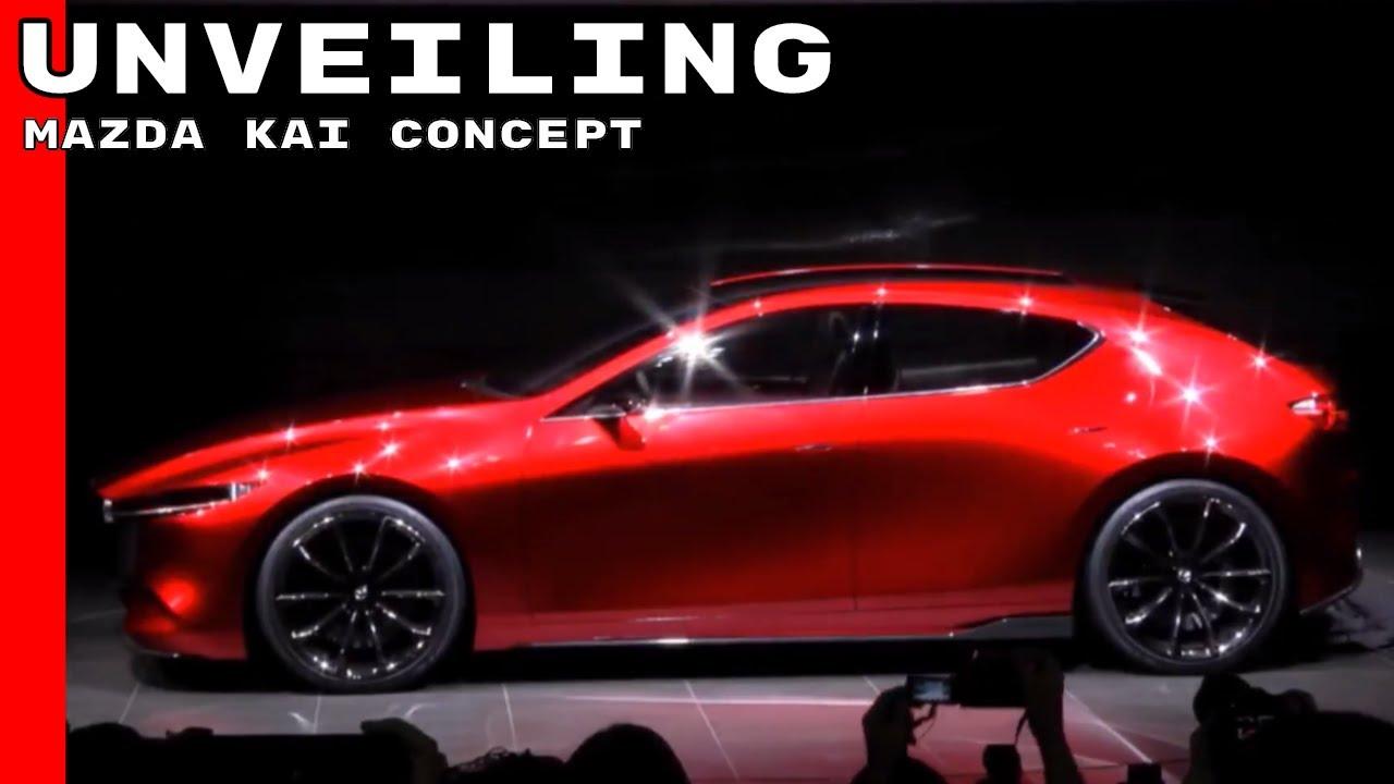 Mazda Kai Concept Unveiling Youtube