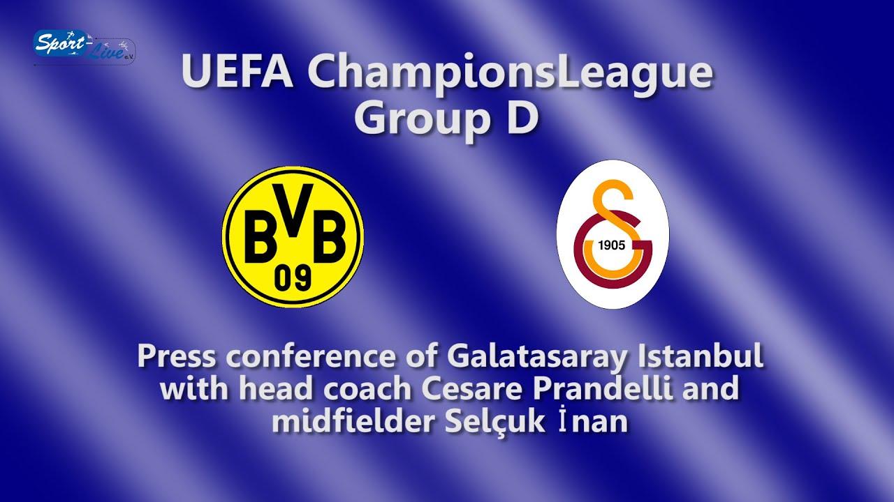 UEFA Championsleague : Borussia Dortmund - Galatasaray Istanbul Pressekonferenz