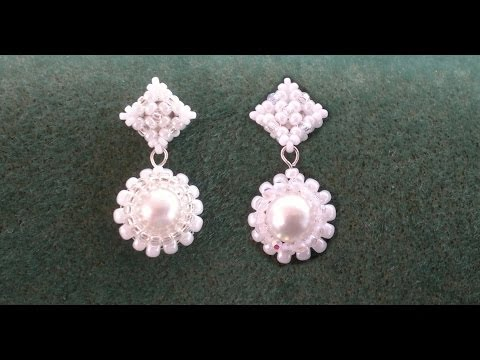 beading4perfecttionists:-victorian-/-wedding-earrings.-studs-based-on-raw-beading-tutorial