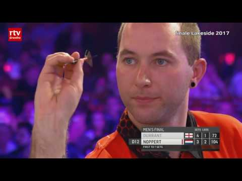 Wordt het weer Adams - Noppert in finale Dutch Open Darts?