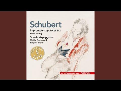 Sonata for Arpeggione and Piano in A Minor, D. 821: I. Allegro moderato (1961 Recording)