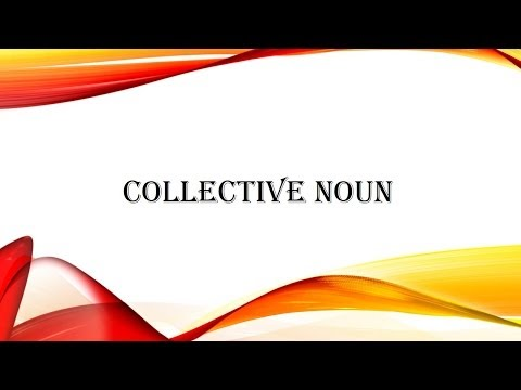 Basic English Grammar - Collective Noun | Spoken English | Beginners English Grammar