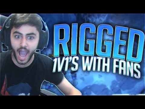 Yassuo | THIS IS RIGGED! (1v1 VS Fans)