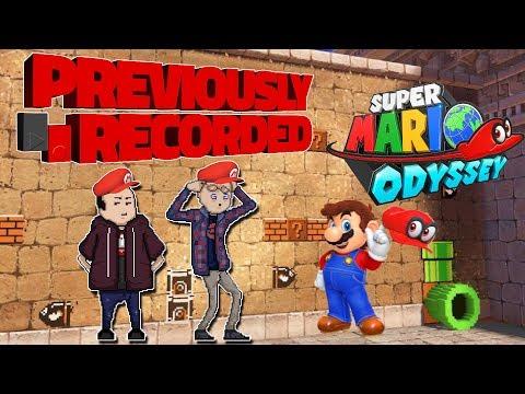 Previously Recorded - Super Mario Odyssey