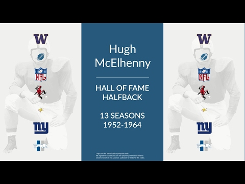 Hugh McElhenny: Hall of Fame Football Halfback