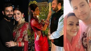 Bollywood Actresses Grand Celebration of Karwa Chauth 2019 | Shilpa-Raj,Anushka-Virat,Priyanka-Nick