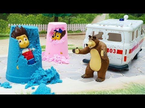 Мультики с игрушками Щенячий патруль - Разоблачение! Новые мультфильмы для детей и пластилин плей до