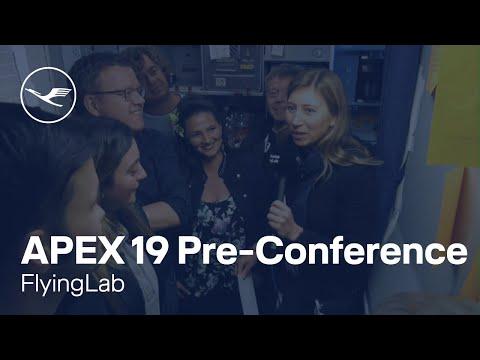 FlyingLab: Design Sprint Workshop, intermediate results - APEX 2019 | Lufthansa
