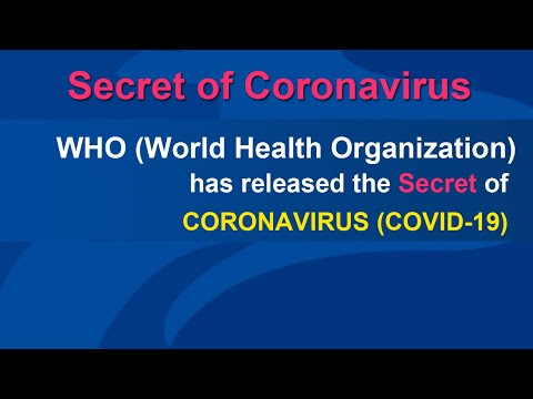 Coronavirus disease 2019 (covid-19) - World Health Organization