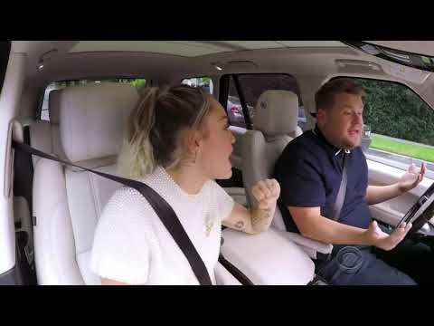 Miley Cyrus - The Climb (Carpool Karaoke)