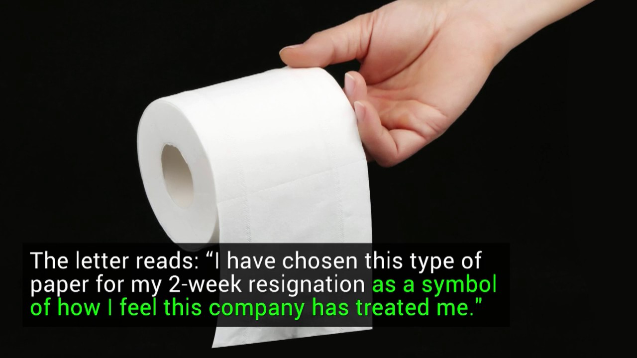 man resigns by writing scathing note on toilet paper man resigns by writing scathing note on toilet paper