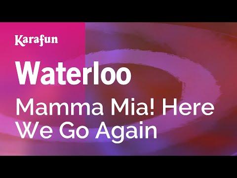 Karaoke Waterloo - Mamma Mia! Here We Go Again *