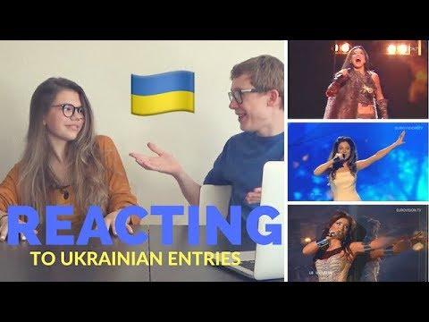 Reacting To Ukrainian Eurovision Entries | Koen Verhulst