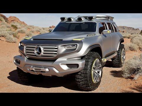 RC Cars OFF Road 4x4 MUD Adventure | Mercedes Ener-G-Force Concept VS Hummer Axial SCX10