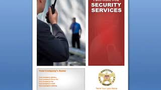 Security Services Proposal for Security Business   Security Company Proposal
