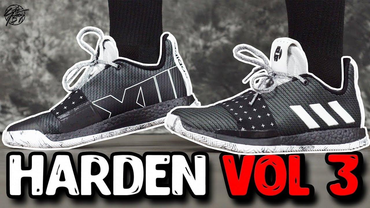 37b6bf552dc Adidas Harden Vol. 3 First Impressions! - YouTube