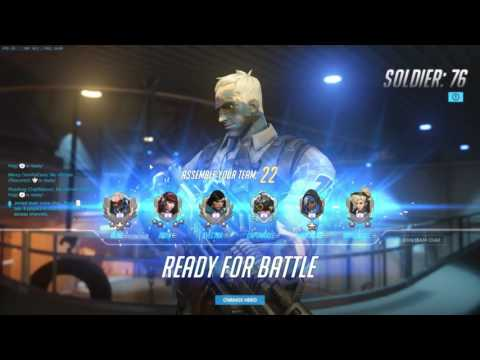 Soldier 76 VOD Review (ft. Coach Waltz) | Diamond Ranked Analysis