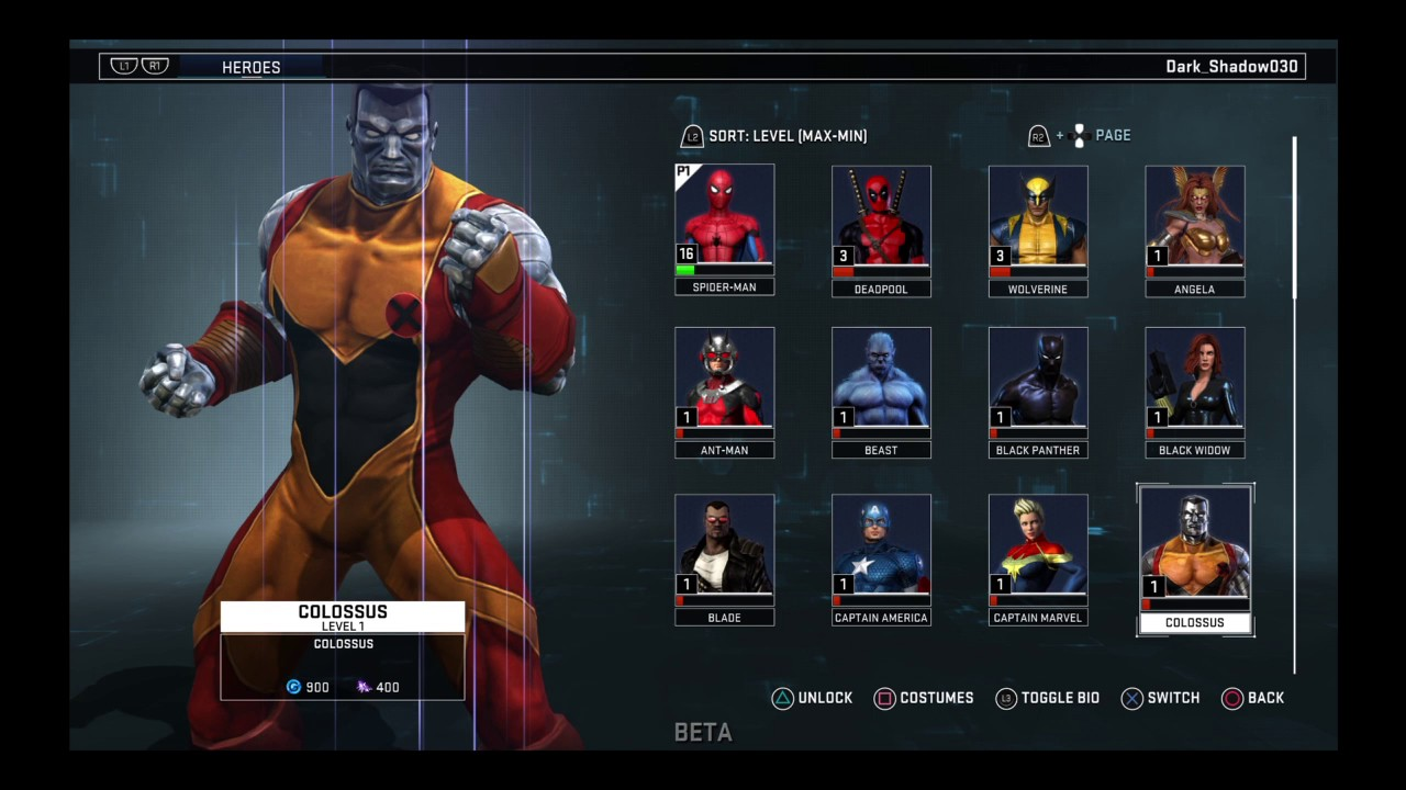 how to download marvel heroes omega ps4