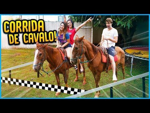 IRMÃOS VS IRMÃS: CORRIDA DE CAVALO!! [ REZENDE EVIL ]