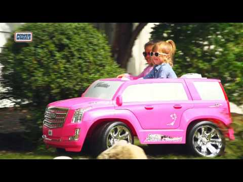 Fisher-Price Power Wheels Barbie Cadillac Escalade | Toys R Us Canada