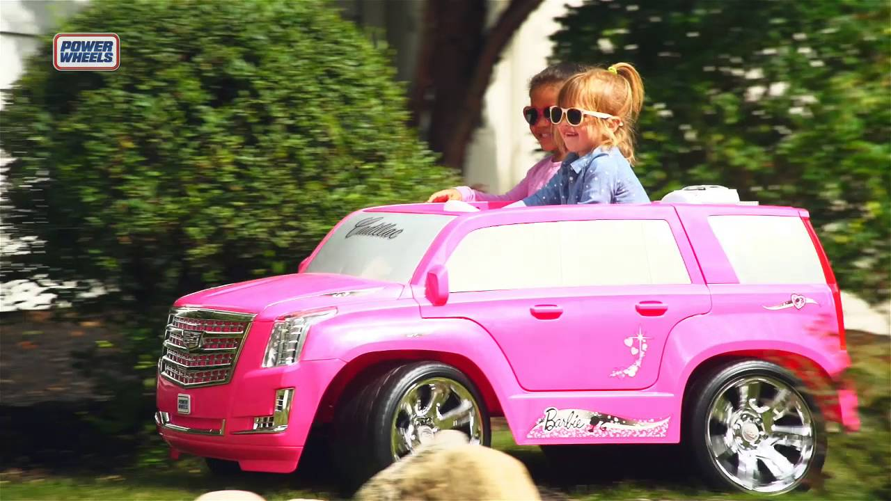 Power Wheels Cadillac Escalade >> Fisher-Price Power Wheels Barbie Cadillac Escalade | Toys ...